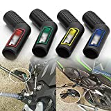 Motorcycle 1PC Shifter Shoe Protector Gas Rubber Shift Lever Gear Cover Motorbike Parts Universal Lever Protection Moto Accessories for Kawasaki Yamaha(Green)