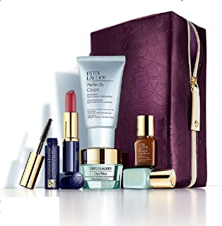 Estee Lauder 2013 Gift Set 135 Value including Skincare Duo Advanced Night Repair Serum Cleanser