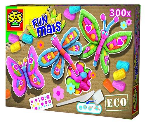 Ses France - 24984 - Kit De Loisirs Créatifs - Fun Maïs - Papillons