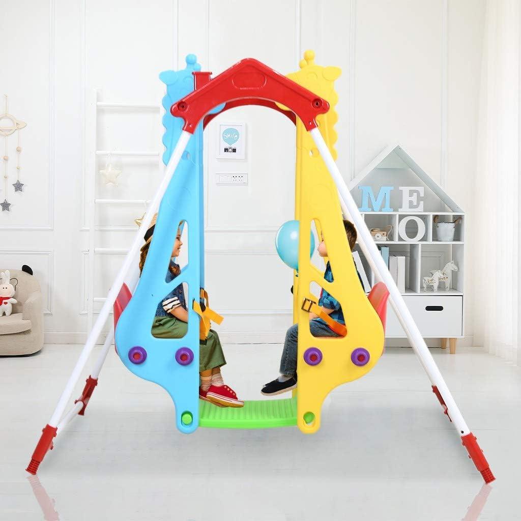 Toddler Metal Swing High order Set Indoor Stand Elegant Hi Outdoor A-Frame