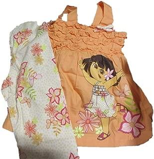 Dora The Explorer Floral Tank Set - Toddler