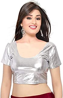 GOGURL Women's Cotton Lycra Stitched Stretchable Blouse