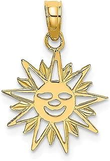 SUN/_Bead for Silver European Chain Charm Bracelet/_Star Moon Night Sky Bright