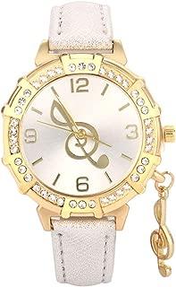 BIGBOBA Korean Fashion Trend Diamond Charm Pendant Fashion Wristwatch Anniversary Gifts Valentine's Day for Student Men Womens Ladies