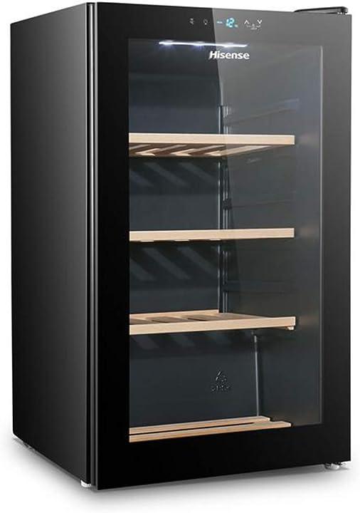 Cantina vino 32 bottiglie hisense rw30d4aj0 capacità 110 l 39 decibel nero frigorifero vini