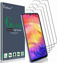 Ferilinso Vetro Temperato per Xiaomi Mi 9 Lite, Redmi Note 8, Redmi Note 7, Redmi 8, Redmi 7, Redmi S3,[4 Pack] Pellicola Protettiva Protezione Schermo in Vetro Temperato Screen Protector Film con