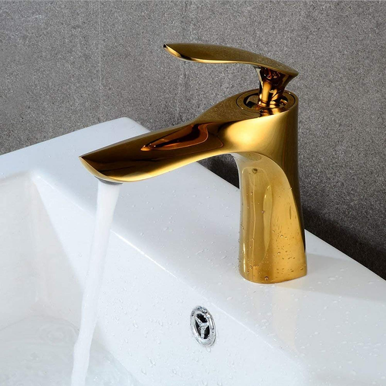 GONGFF Waschtischarmaturen Wasserhahn Europischen Gold heien und kalten Wasserhahn Becken Wasserhahn Retro Waschbecken Wasserhahn Bad Wasserhahn Becken Wasserhahn Wasserhahn Waschbecken Wasserhah