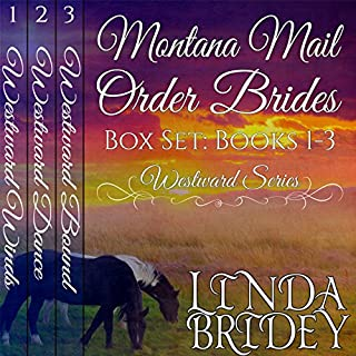Montana Mail Order Bride Box Set     Westward Series, Books 1-3              By:                                                                                                                                 Linda Bridey                               Narrated by:                                                                                                                                 J. Scott Bennett                      Length: 16 hrs and 11 mins     155 ratings     Overall 4.5