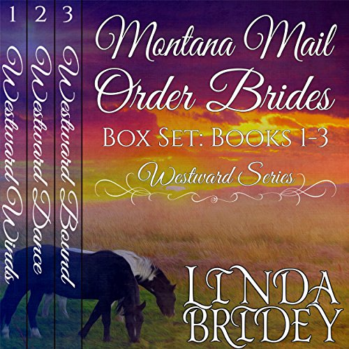 Montana Mail Order Bride Box Set audiobook cover art