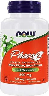 [海外直送品] ナウフーズ [2本セット]   (アメリカ製)フェイズ2(炭水化物ブロッカー 白インゲン豆抽出 ファセオラミン) 120粒