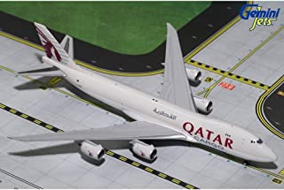 GEMGJ1720 1:400 Gemini Jets Qatar Cargo Boeing 747-8F Reg #A7-BGB (pre-painted/pre-built)