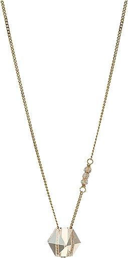 Short Necklace with Swarovski Crystal