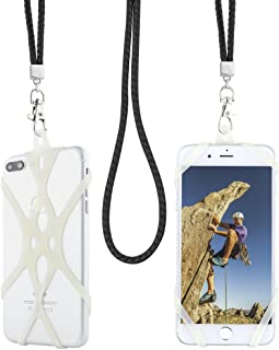Gear Beast Cell Phone Lanyard, Mobile Phone Holder Case and Braided Neck Strap for iPhone Xs Max Xr X 8 7 6S 6 Plus Galaxy S10e S10 S9 S8 Plus Note 9 8 Pixel 3 XL & More