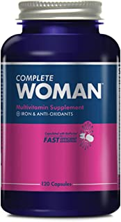 Sponsored Ad - Complete Nutrition Complete Woman Multivitamin, Women's Daily Multivitamin, Immune Support, Digestive Suppo...