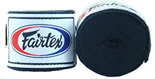 "Fairtex Elastic Cotton Handwraps HW2-120 and 180""- Full Length Hand Wraps. Many Colors"