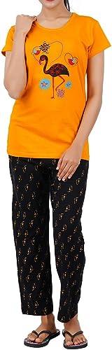 Girls Premium Cotton Printed Pyjama Set Night Suit Nightwear