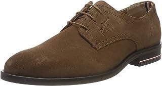 Tommy Hilfiger Suede Shoe, Signature Hilfiger Chaussures en Daim Homme