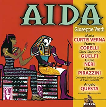 Cetra Verdi Collection: Aida