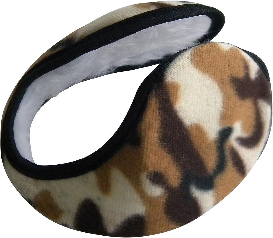 Ear Muffs Camouflage Army Print Polar Fleece Winter Earmuff