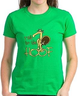 Talk to The Hoof Womens Cotton T-Shirt