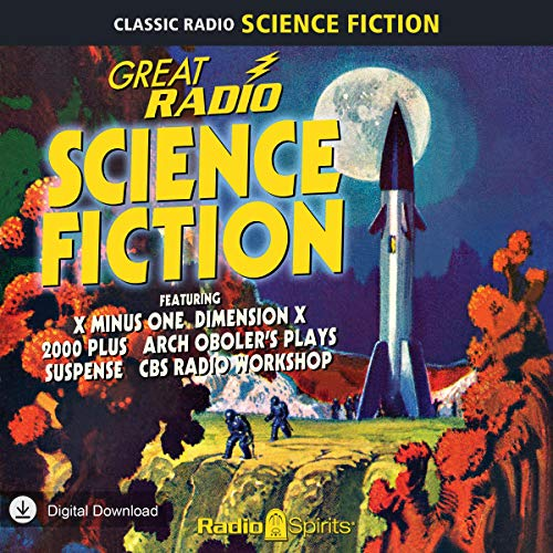 Great Radio Science Fiction audiobook cover art
