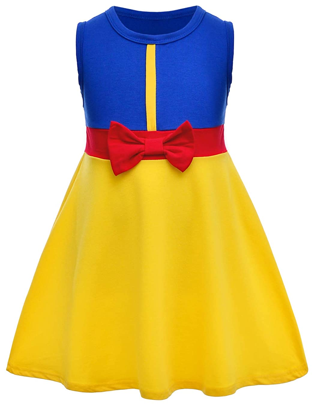 Joy Join Little Girls Mermaid Green Dress Halloween Cosplay Costumes for Toddler Girls (12M-6Years)