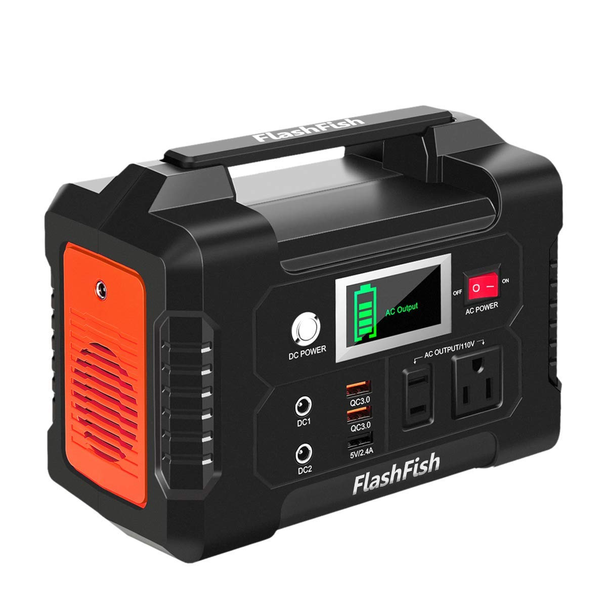 Portable FlashFish Generator Adventure Emergency