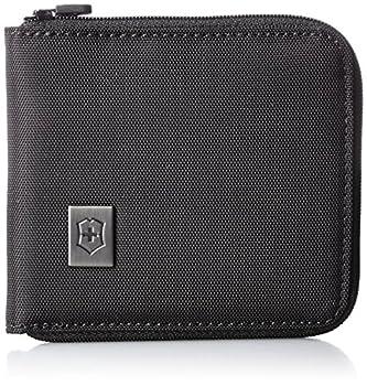 Victorinox Zip-Around Wallet Black/Black Logo One Size
