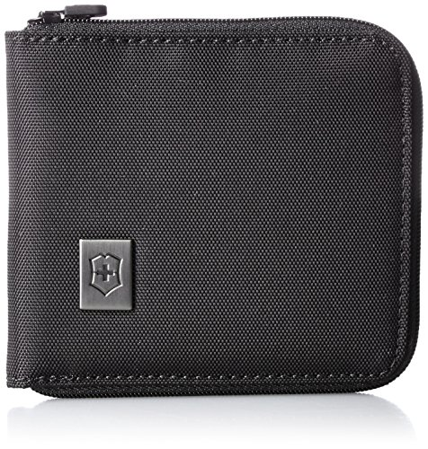 Victorinox Travel Accessories 4.0, Zip-Around Wallet, Black