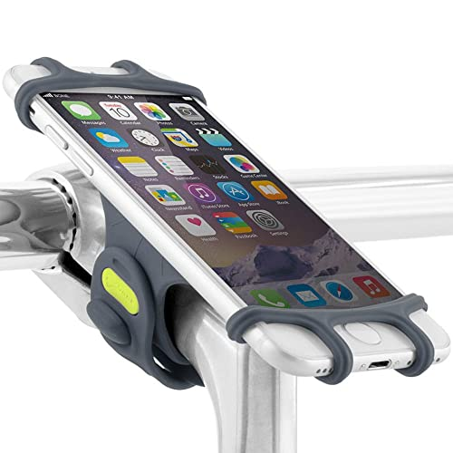 Universal Bike Phone Mount, Bicycle Stem Handlebar Cell Phone Holder for iPhone 8 7 6S