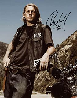 Best Charlie Hunnam sexy reprint signed photo #1 Sons of Anarchy Review