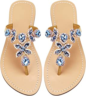 Bejeweled Sandals For Women