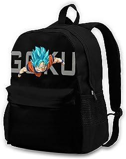 Dragonball Z Goku Silhouette Backpack Daypack Rucksack Laptop Shoulder Bag with USB Charging Port