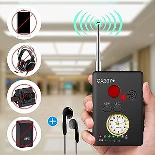 "Anti-spy Camera Bug RF Signal Detector [Enhanced Version], Dooreemee Wireless Hidden Camera GPS Tracker Higher Sensitivity Multi-functional GSM Device Finder(2"" X 0.6"" X 2.9"", 1.6oz, Handheld)"