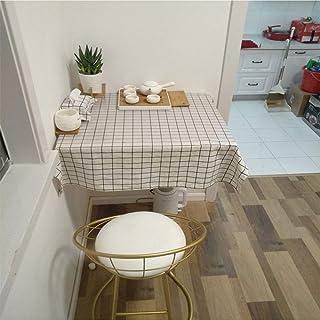 CCEKD Folding Table Table Pliante Murale Table Mural Table Abattant Blanc Fixés Au Mur Murale Rabattable Cuisine Table De ...