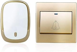 Deurbellen Intelligentie Draadloze Deurbel Waterdichte Smart Huis Draadloze Bell Batterij Deurbel 1button1receiver