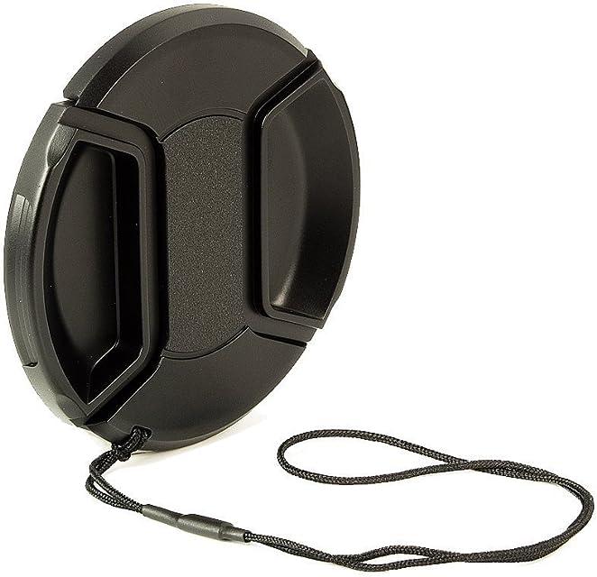 BlueBeach® 82mm Tapa de la Lente Broche de presión en el Clip con la Cadena de videocámaras cámaras - Canon Nikon Olympus Panasonic Pentax Samsung Sony etc Leica