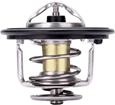 cciyu 19301-PAA-306 Engine Coolant Thermostat Housing Kit Water Outlet Thermostat Housing Kit Replacement fit for Honda Accord Civic CR-V Odyssey Prelude Acura Integra Honda Civic del Sol