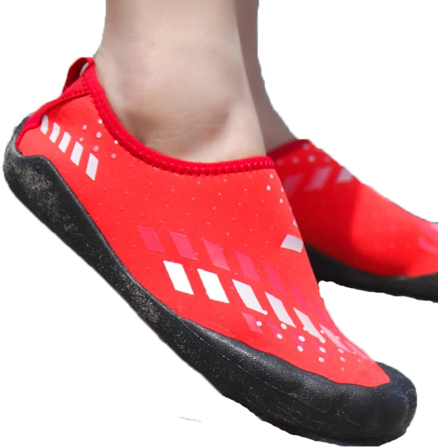 RBB 2018 couple outdoor non-slip beach shoes wear wading shoes men and women models five-finger shoes