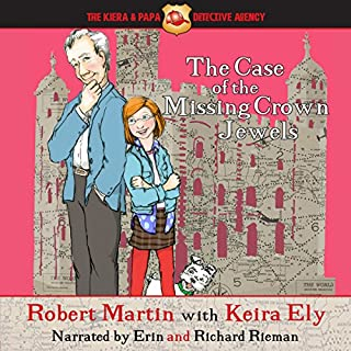 The Case of the Missing Crown Jewels audiobook cover art