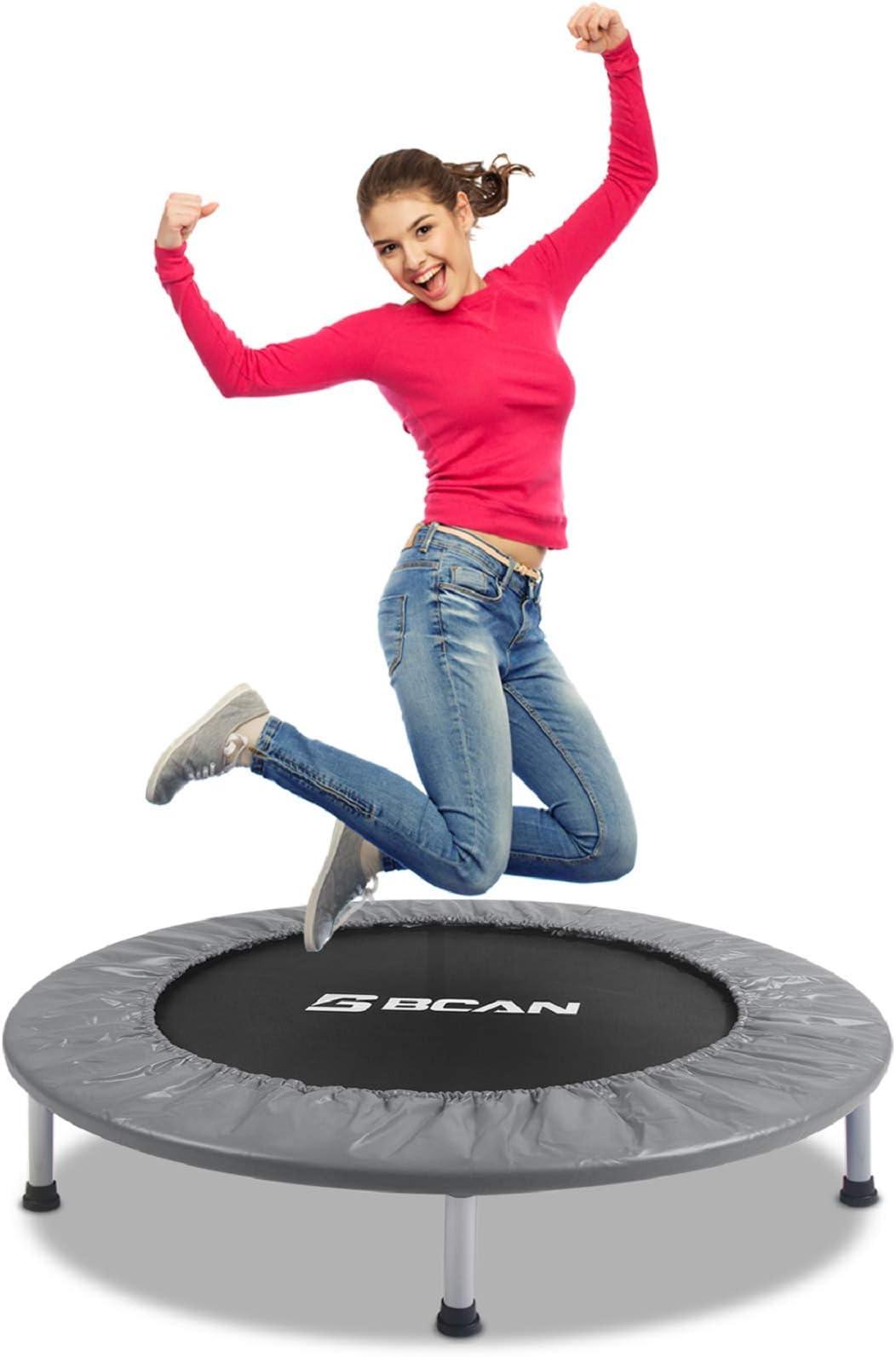 Black GoZone Mini Fitness Trampoline