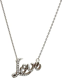 Brighton Love Script Necklace