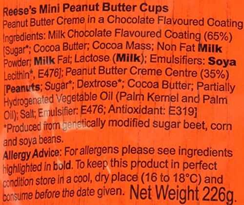 REESE'S Peanut Butter Cups Minis (8-Ounce)