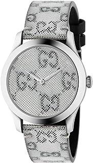 Gucci - Reloj Gucci YA1264058 Gris Acero 316 L Unisex