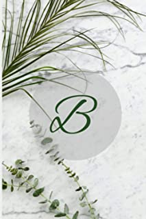 Notizbuch personalisiert - B (Personalisierte Notizbuecher A-Z)