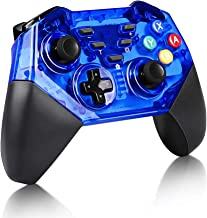 Wireless Controller for Nintendo Switch, KINGEAR Pro Wireless Controller Gamepads for Switch and Windows PC-Blue
