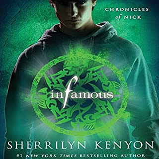 Infamous audiobook cover art