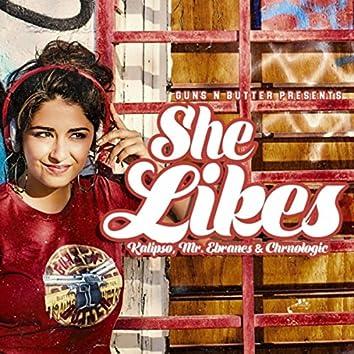 She Likes (feat. Kalipso, Mr. Ebranes & Chrnologic)