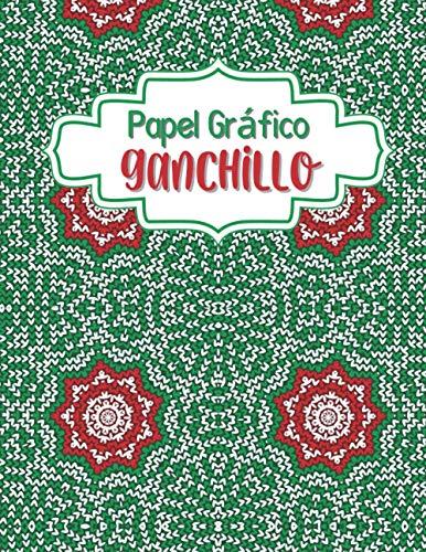 Papel Gráfico Ganchillo: Simple Costurera de Diseño Cuaderno   Bitácora para dibujar y crear sus patrones para adultos y niños   Ayudante de Artesano ... bordadores y...