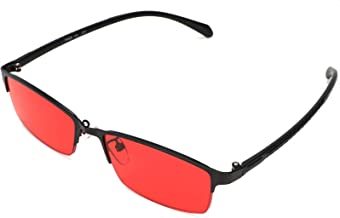STBJ Color Blind Glasses for Men and Women with Red-Green Blindness, Color Vision Disorder, Color Weakness,Fullframe
